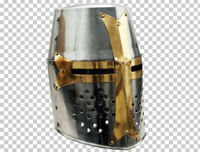 Crusades Middle Ages Great Helm Helmet Knight PNG, Clipart ...