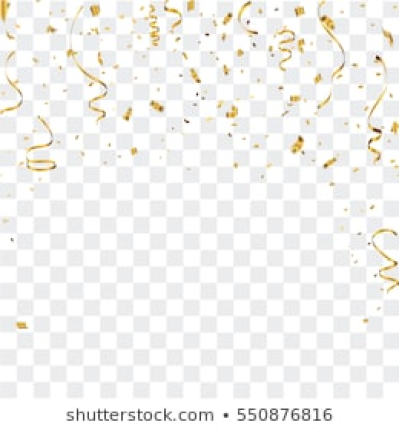 Golden Confetti Isolated Images, Stock Photos & Vectors | Shutterstock