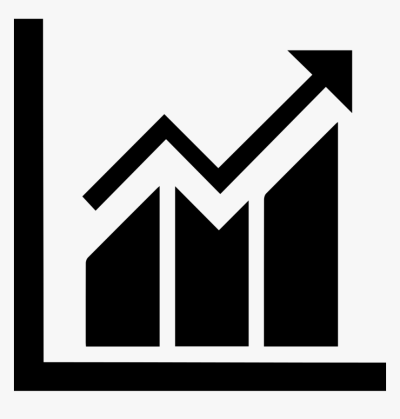 Upward Trend Svg Png Icon Free Download - Business Value Png ...