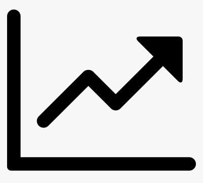 Efficiency - Upward Trend Arrow Icon, HD Png Download ...