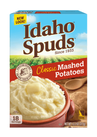 Classic Flakes Mashed Potaoes | Idaho Spuds