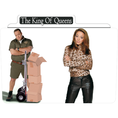 The King Of Queens 1 Icon | TV Movie Folder Iconset | Aaron Sinuhe