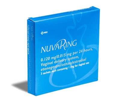Buy NuvaRing Online, 3 Months Supply - UK Pharmacy - Treated.com