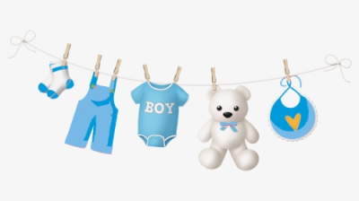 Baby Shower Niño Png - Baby Boy Shower Png, Transparent Png - kindpng