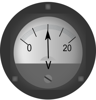 Voltmeter Ac-Dc Electric - Free vector graphic on Pixabay