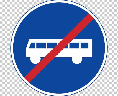 Bus Traffic Sign Lane Carriageway PNG, Clipart, Area, Blue, Brand ...