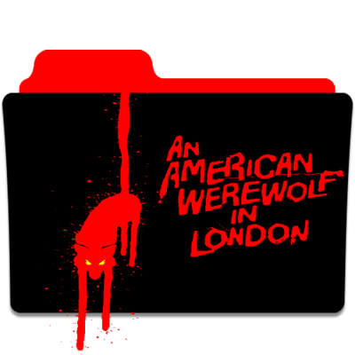 An American Werewolf in London Folder Icon by matrixpath on DeviantArt