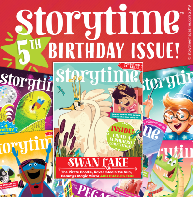 Storytime Issue 61 5th Birthday | Storytime Magazine | Celebrating ...