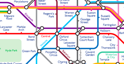 A Contemporary Tube Map That Channels Harry Beck | Londonist