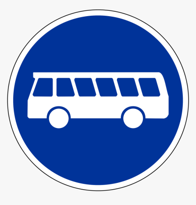 Bus Lane Sign Germany, HD Png Download , Transparent Png Image ...