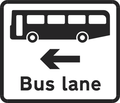 Bus Lane Sign Clip Art at PNGio - vector clip art online ...