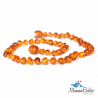 MummaBubba Baltic Amber Necklace Cognac – Eat Teeth Sleep