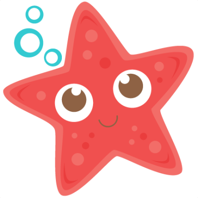 Cute Starfish Transparent Background