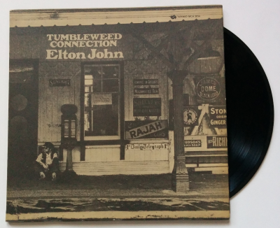 Journey Through Records: Elton John - Tumbleweed Connection