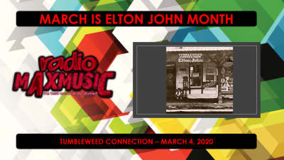 Wednesday 12am: Feature LP – Elton John – Tumbleweed Connection ...