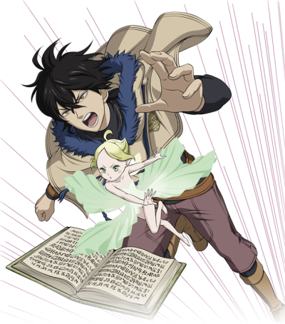 Download More Information - Black Clover Yuno And Sylph PNG Image ...