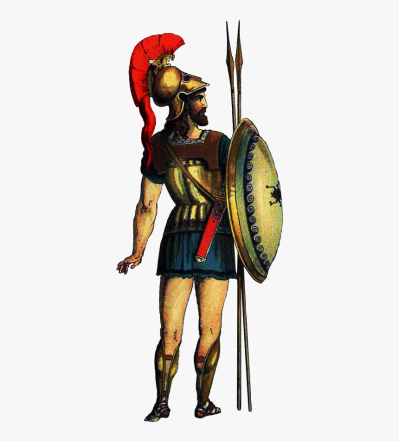 Greek Soldier Web - Soldier Ancient Greek Transparent, HD Png ...