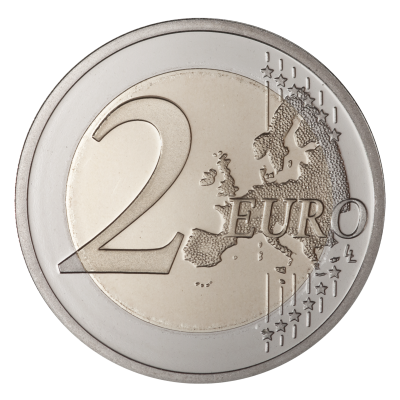 Coin-euro-background-Coins-transparent