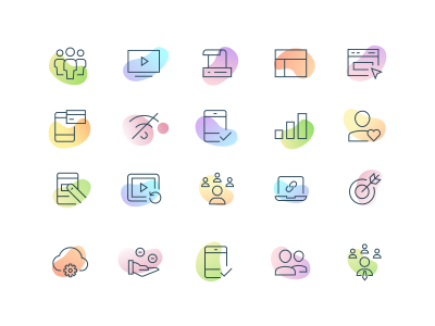 Icons | Web design icon, Creative web design, Web design websites