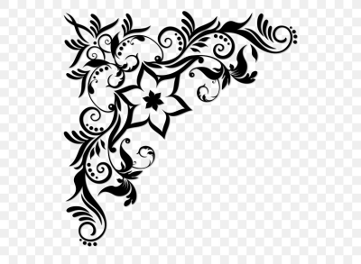 Decorative Borders Vector Graphics Clip Art Floral Design, PNG ...