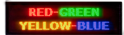 LED Display Board PNG Image