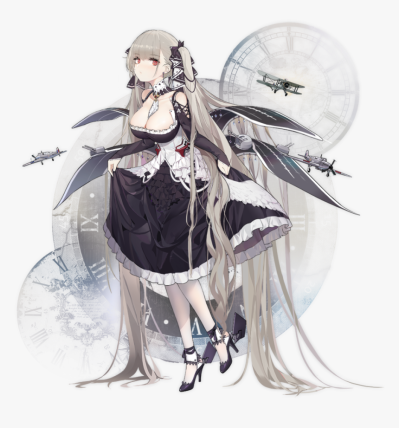 Azur Lane Formidable Figure, HD Png Download - kindpng