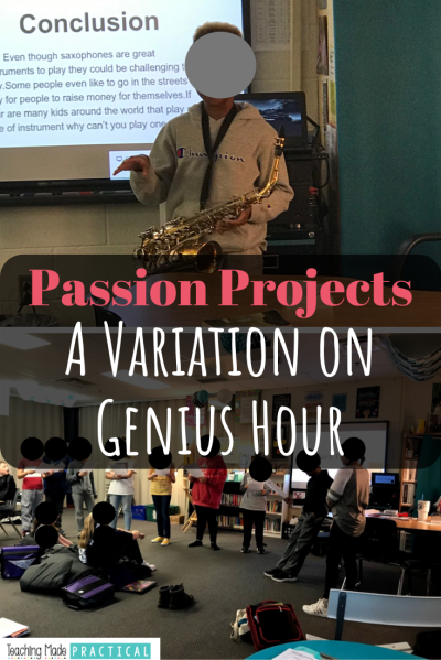 Passion Projects – A Variation on Genius Hour | Genius hour ...