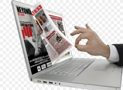 Online Magazine Advertising Electronic Publishing, PNG, 879x643px ...