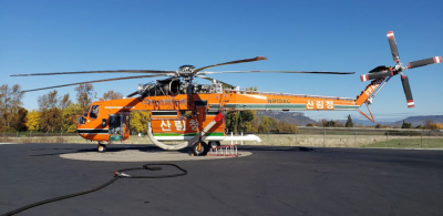 S-64 Air Crane helicopter headed to South Korea - Vertical Magazine