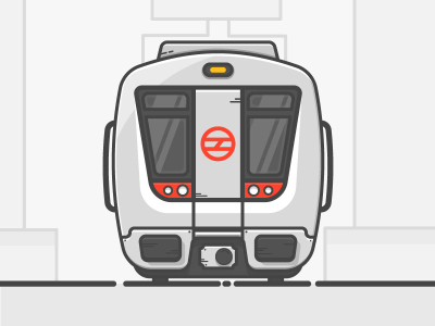 Delhi Metro by Varun Kumar on Dribbble