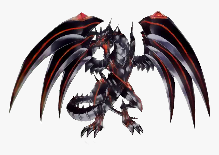 Yugioh Red Eyes Darkness Metal Dragon Png, Transparent Png ...