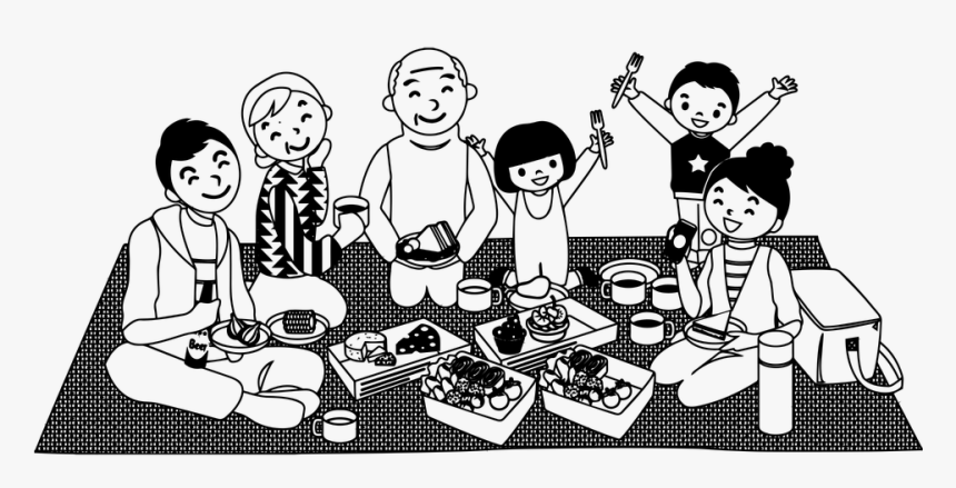 Family Picnic Png, Transparent Png - kindpng