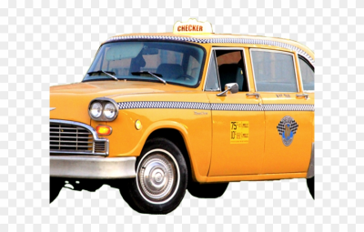 Taxi Cab Clipart Ny Taxi - 1981 Checker Marathon Custom 4 Door ...