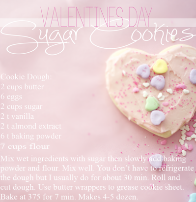 V-Day Cookies (Recipe) – Ivory Lane