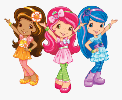 Strawberry Shortcake Berry Bitty Adventures Orange, HD Png ...