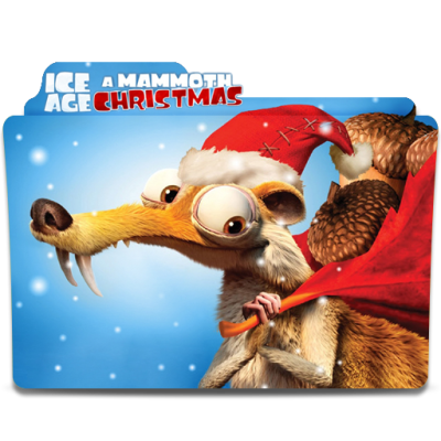 Ice Age Mammoth Christmas Movie Folder Icon by SharatJ on DeviantArt