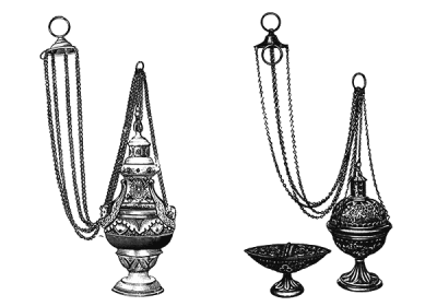Censers & Thuribles - Used Church Items