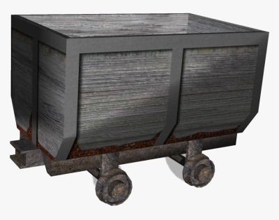Mine Cart Coal Png , Png Download - Minecart Png, Transparent Png ...