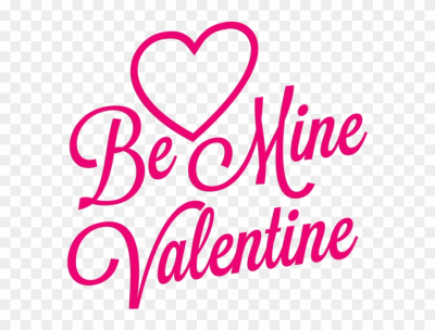 Happy Valentines Day Png - Mine Valentine Clip Art, Transparent ...