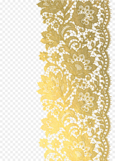 Lace clipart gold lace, Lace gold lace Transparent FREE for ...