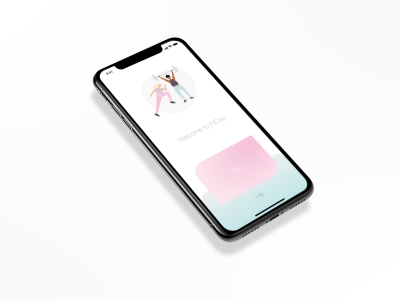 FitDay Mobile App Homepage Mockup Her and His by Agne Macyte on ...