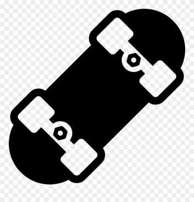 Skateboard Clipart Svg - Skateboard Vector Image Png Transparent ...
