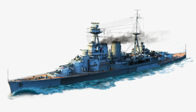 Hms Hood Tier Vii British Battleship 1 Port Slot - Roma World Of ...