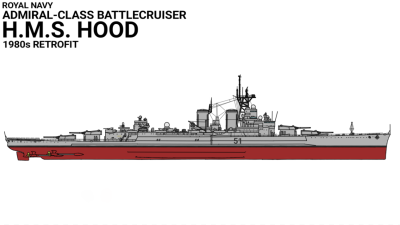 H.M.S. Hood Modernized by Zyfle on DeviantArt