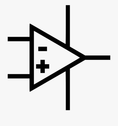 Operational Amplifier Svg Png Icon Free Download - Amplifier Icon ...