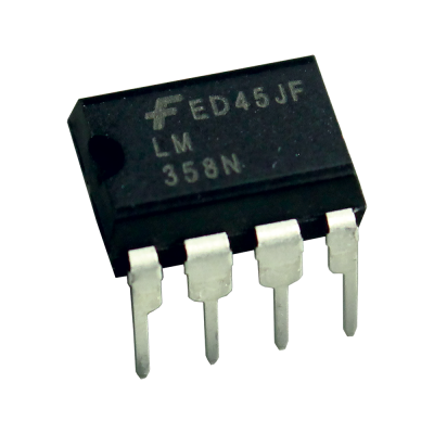 LM358 OP-Amp (Dual Operational Amplifier) - (5 Pcs) - Aguda