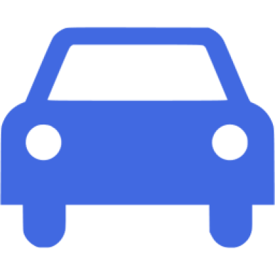 Royal blue car 4 icon - Free royal blue car icons