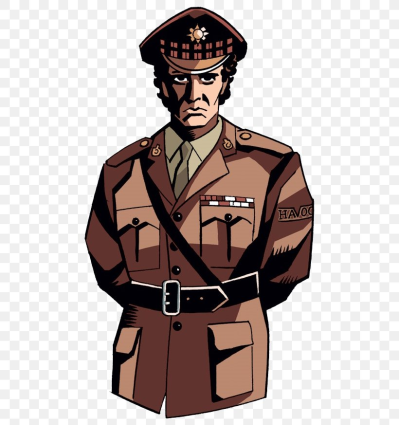 Soldier Brigadier Lethbridge-Stewart Military Uniform Army Officer ...