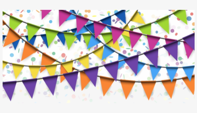 Flag Confetti Stock Photography - Festive Banner Png Transparent ...