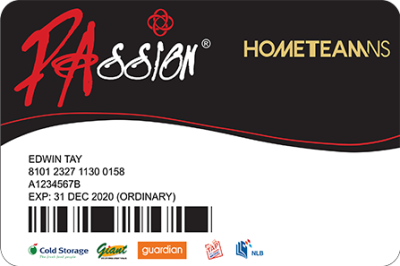 Application and Renewal for HomeTeamNS-PAssion Card